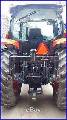 2013 Kubota M110GX Tractor withloader