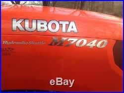 2013 Kubota M7040HD 4WD