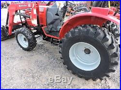 2013 Mahindra 3016 Tractor With Loader 4wd Deere Kubota Low Hours