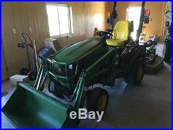 2014 John Deere 1025R Utility Tractors