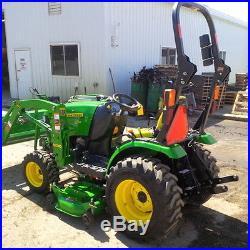 2014 John Deere 2025R Utility Tractors