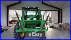 2014 John Deere Farm Tractor 6150R MFWD Tractors
