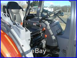 2014 KUBOTA L 4060 HST 4 X 4 CAB LOADER TRACTOR ONLY 25 HOURS