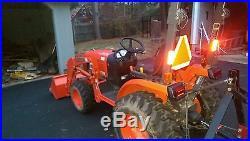 2014 Kubota B2320D 4X4 33 Hrs withMower & Loader LA304