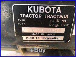 2014 Kubota B2620hsd