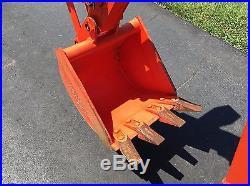 2014 Kubota B2920 HST 4x4 Tractor Loader Backhoe Only 52 Hours
