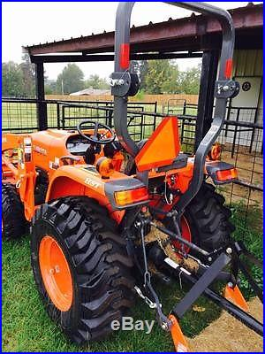2014 Kubota L3200 with Front Loader and Land Pride Mower
