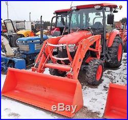 2014 Kubota L4060hstc / L4060 4wd Tractor / La805 Loader 183 Hours