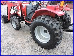 2014 Mahindra 3016 Tractor With Loader 4wd Deere Kubota