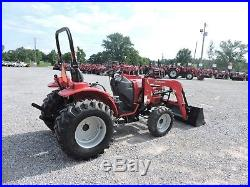 2014 Mahindra 3016 Tractor With Loader 4wd Deere Kubota Good Condition