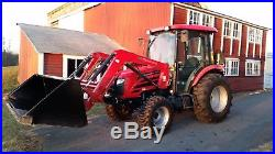 2014 diesel Mahindra 5010 HST Cab Tractor, 175 hours usage, excellent condition