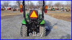 2015 John Deere 1023E Compact Tractor