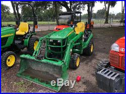 2015 John Deere 1025R 4x4 Hydro Compact Tractor Loader Only 300Hrs Coming Soon