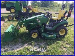 2015 John Deere 1025R Tractor Loaders