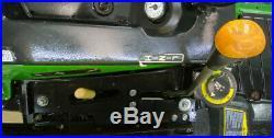2015 John Deere 1025r Hst Diesel Tractor Loader With 4x4