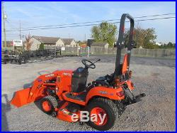 2015 Kubota BX1870 4X4 Hydro Compact Tractor with Loader