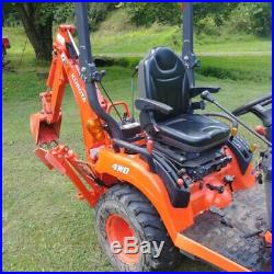 2015 Kubota BX 25D Low hrs with front loader and backhoe