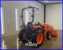 2015 Kubota L3301 Hst Orops Tractor Loader With 4x4