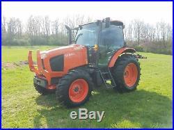 2015 Kubota M110GX Tractor Diesel Farm Ag Machine AC Heat
