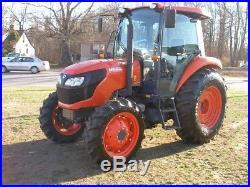 2015 Kubota M6060 4wd Clean Tractor Diesel