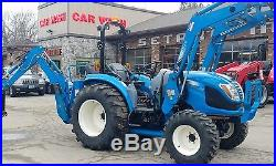 2015 LS tractor XR4040H loader backhoe Hydro 200 hours warranty till 2020 extras