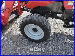 2015 Mahindra 1533 Tractor With Loader & Backhoe 4wd Deere Kubota