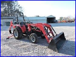 2015 Mahindra 3535 Tractor With Loader & Backhoe! Deere Kubota Warranty