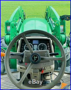 2016 JOHN DEERE 6155M Tractor With Loader, CLEAN, LOW HRS