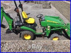 2016 John Deere 1025R Utility Tractors