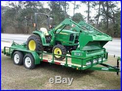2016 John Deere 3038E Utility Tractors