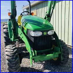 2016 John Deere 4105 4x4 Diesel Tractor Hydro Loader Clean! Low Cost Shipping