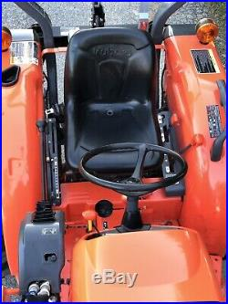2016 KUBOTA L3301 4x4 loader tractor 3 Point PTO 4WD Diesel Compact