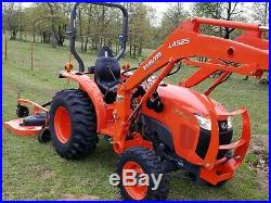 2016 KUBOTA L3301 4x4 loader tractor FREE DELIVERY
