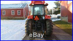 2016 KUBOTA M7060 4X4 UTILITY TRACTOR With CAB & LOADER 60 HOURS 70HP DIESEL 12/12