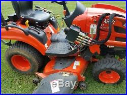 2016 Kioti CS2210 4WD with Loader and belly mower