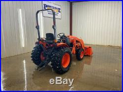 2016 Kubota B3350 Hst Orops Tractor Loader With 4x4