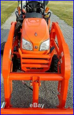 2016 Kubota BX2670 Deisel 4x4 Loader Tractor WithMower Only 124 Hours! Warranty