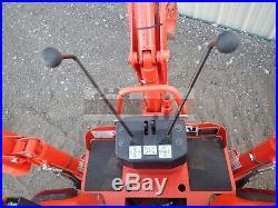 2016 Kubota Bx25d Tractor Loader Backhoe Belly Mower 4x4 175 Hours 23 HP Kubota