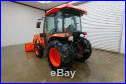 2016 Kubota L4060 4wd Cab Tractor Loader, La805 Loader, Ac/heat/radio, 4x4