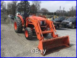 2016 Kubota L6060 4X4 Compact Tractor with Loader