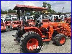 2016 Kubota MX5200 4X4 Utility Tractor with Loader Only 800Hrs One Owner