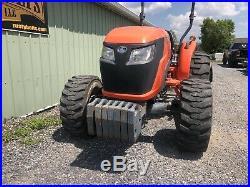 2016 Kubota Mx5200 4x4 Utility Tractor 54 HP Diesel Blade Cheap Shipping