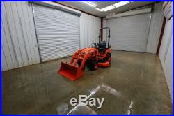 2016 Kubtoa Bx2670 Hst Tractor Loader, 4x4, 25hp, La243 Loader, 60 Belly Mower