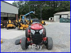 2016 MAHINDRA eMAX22 TRACTOR & MOWER! 4X4 ONLY 89 HOURS