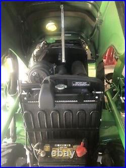 2017 JOHN DEERE 2025R 4x4 4WD HST Diesel TRACTOR! Only 70 Hours factory Warranty