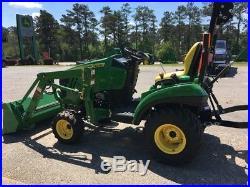 2017 John Deere 1023E Utility Tractors