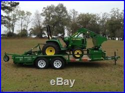 2017 John Deere 3025E Utility Tractors