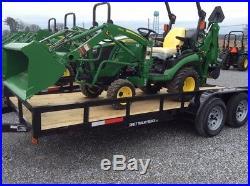 2017 John Deere 3025 Compact & Utility Tractors