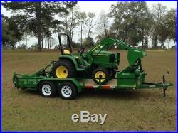 2017 John Deere 3032E Compact & Utility Tractors
