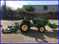 2017 John Deere 3032E Utility Tractors